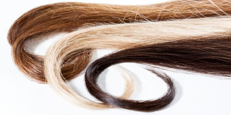 Different types of hair used for alcohol testing